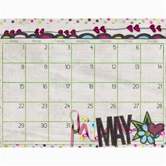 Calendar 2011 By Sarah Banholzer   Wall Calendar 11  X 8 5  (12 Months)   Jyivfqpebget   Www Artscow Com May 2011