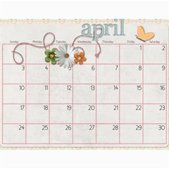 Calendar 2011 By Sarah Banholzer   Wall Calendar 11  X 8 5  (12 Months)   Jyivfqpebget   Www Artscow Com Apr 2011