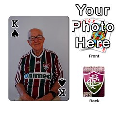 King Baralho Familia 2 By Andre Ramalho   Playing Cards 54 Designs   A65xt1f1na62   Www Artscow Com Front - SpadeK