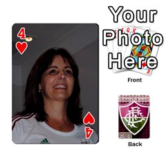 Baralho Familia 2 By Andre Ramalho   Playing Cards 54 Designs   A65xt1f1na62   Www Artscow Com Front - Heart4