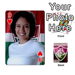 Baralho Familia 2 By Andre Ramalho   Playing Cards 54 Designs   A65xt1f1na62   Www Artscow Com Front - Heart9