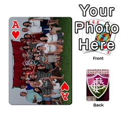 Ace Baralho Familia 2 By Andre Ramalho   Playing Cards 54 Designs   A65xt1f1na62   Www Artscow Com Front - HeartA