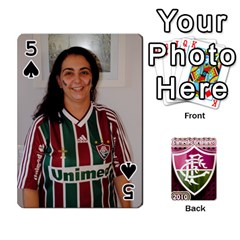 Baralho Familia 2 By Andre Ramalho   Playing Cards 54 Designs   A65xt1f1na62   Www Artscow Com Front - Spade5