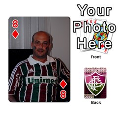 Baralho Familia 2 By Andre Ramalho   Playing Cards 54 Designs   A65xt1f1na62   Www Artscow Com Front - Diamond8