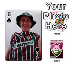 Baralho Familia 2 By Andre Ramalho   Playing Cards 54 Designs   A65xt1f1na62   Www Artscow Com Front - Spade6