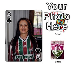 Baralho Familia 2 By Andre Ramalho   Playing Cards 54 Designs   A65xt1f1na62   Www Artscow Com Front - Club3