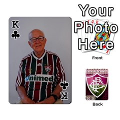 King Baralho Familia 2 By Andre Ramalho   Playing Cards 54 Designs   A65xt1f1na62   Www Artscow Com Front - ClubK