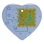 Christmas tree - heart ornament - Ornament (Heart)