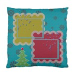 Christmas pillow - Cushion Case (One Side)