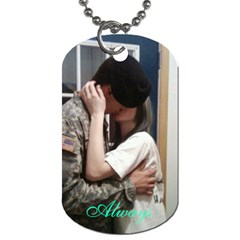 Alex X Mas Gift By Holly   Dog Tag (two Sides)   Dt4s0yrdjq5b   Www Artscow Com Front
