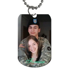 Alex X Mas Gift By Holly   Dog Tag (two Sides)   Dt4s0yrdjq5b   Www Artscow Com Back