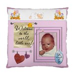 Baby Girl 2-Sided Cushion Case - Cushion Case (Two Sides)