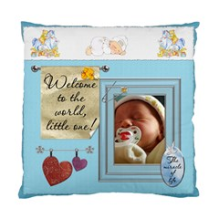 Baby Boy 2 Sided Cushion Case By Lil    Standard Cushion Case (two Sides)   Ypvw1bs3ccyr   Www Artscow Com Front