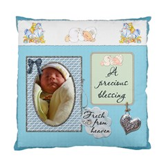 Baby Boy 2 Sided Cushion Case By Lil    Standard Cushion Case (two Sides)   Ypvw1bs3ccyr   Www Artscow Com Back