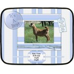 baby boy - Fleece Blanket (Mini)