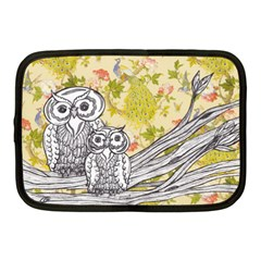 Owls 101 Netbook Case (Medium) by kewzooA