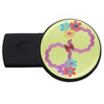 Flowers - 1gb usb - USB Flash Drive Round (1 GB)