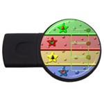Christmas baby - 1gb usb - USB Flash Drive Round (1 GB)