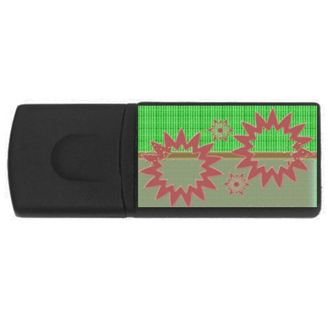 My Stars   4gb Usb By Daniela   Usb Flash Drive Rectangular (4 Gb)   Iysjjrsmp08r   Www Artscow Com Front