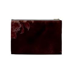 Love Medium Cosmetic Bag By Lisa Minor   Cosmetic Bag (medium)   Feu86aalt6e3   Www Artscow Com Back