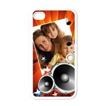 music world - Apple iPhone 4 Case (White)