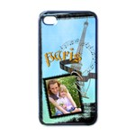 paris - Apple iPhone 4 Case (Black)