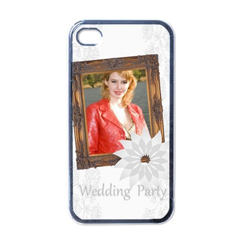 Wedding Day By Joely   Apple Iphone 4 Case (black)   Dx3ghlv0j4lx   Www Artscow Com Front