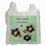 The Think Green Recycle Bag - Recycle Bag (One Side)