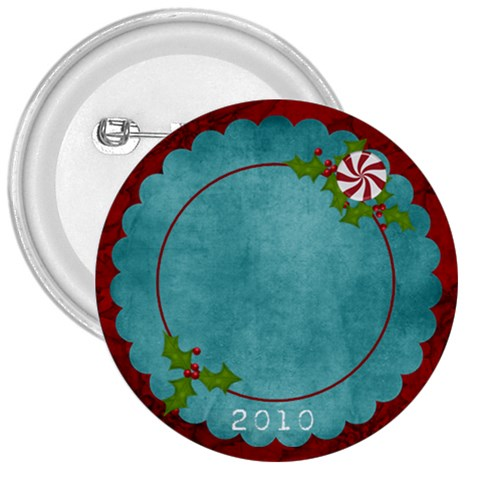 Christmas Jingle Button By Bitsoscrap   3  Button   X5b9vsnsskdl   Www Artscow Com Front