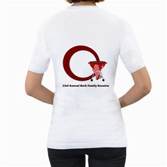 Reunion Shirt By Brookieadkins Yahoo Com   Women s T Shirt (white) (two Sided)   T9dws8d8ypbb   Www Artscow Com Back