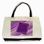 Purple tote - Basic Tote Bag
