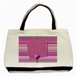 Purple hearts tote - Classic Tote Bag