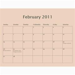 Daddy s 2011 Calendar By Laura Witte   Wall Calendar 11  X 8 5  (12 Months)   9dnfwkvzseuz   Www Artscow Com Feb 2011