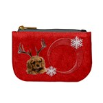 Christmas Puppy Coin Purse - Mini Coin Purse