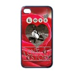 Love Story Apple iPhone 4 Case - Apple iPhone 4 Case (Black)