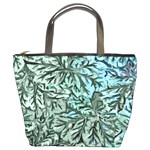Blue Leaf Custom Bucket Bag