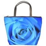 Blue Rose Custom Bucket Bag