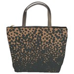 Brown Leopard Custom Bucket Bag