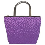 Purple Leopard Custom Bucket Bag