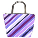 Purple Candy Cane Custom Bucket Bag