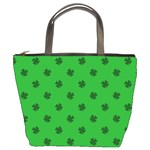 Green Shamrock Custom Bucket Bag