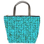 Turquoise Weave Custom Bucket Bag