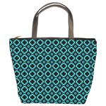 Turquoise Illusions Custom Bucket Bag