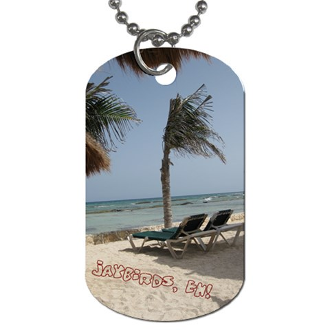 Jaybirds 1 By Beth   Dog Tag (one Side)   M9yrloooo0gi   Www Artscow Com Front