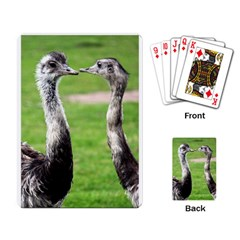 Ostrich Playing Cards Single Design by photogiftanimaldesigns