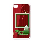 merry christmas gift - Apple iPhone 4 Case (White)