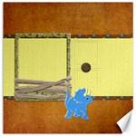 DINOSAUR! 16x16 Canvas - Canvas 16  x 16