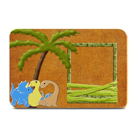 Dinosaur! Placemat By Lisa Minor   Plate Mat   Cwvwmygf7re0   Www Artscow Com 18 x12 Plate Mat - 1