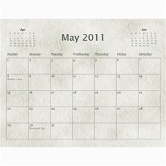 Rescue Calander By Tracy Caccavella Perrin   Wall Calendar 11  X 8 5  (12 Months)   Bkd98l6kn8hs   Www Artscow Com May 2011