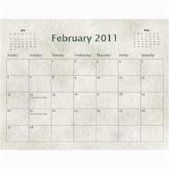 Rescue Calander By Tracy Caccavella Perrin   Wall Calendar 11  X 8 5  (12 Months)   Bkd98l6kn8hs   Www Artscow Com Feb 2011